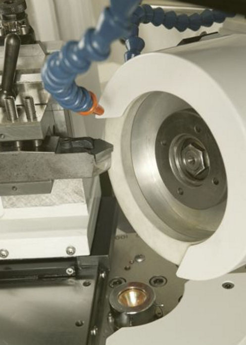 PCD/PCBN tooling for edge grinding